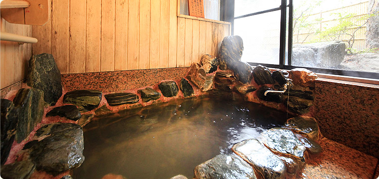 秋保温泉岩沼屋 貸切風呂の写真