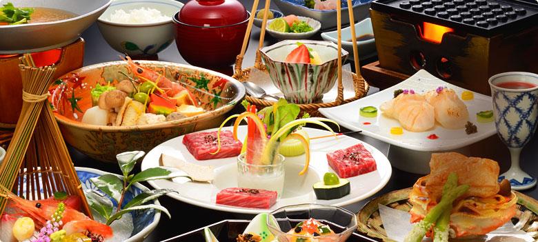 秋保温泉岩沼屋 料理の写真