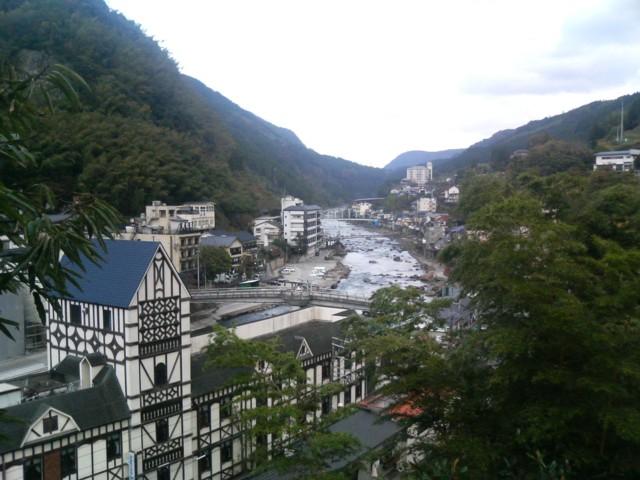 天ヶ瀬温泉 景色の写真