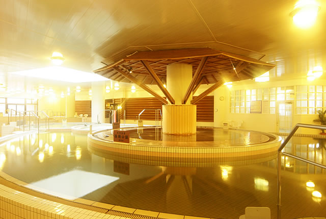 シャトレーゼ ガトーキングダム サッポロの室内浴場の写真