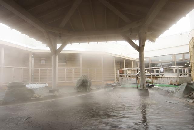 シャトレーゼ ガトーキングダム サッポロ 露天風呂の写真