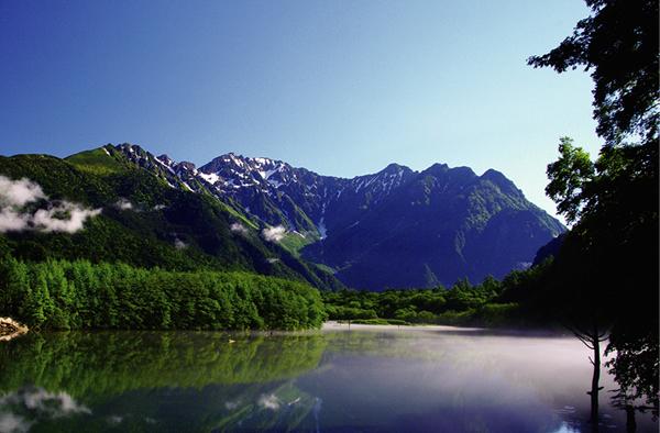 中部山岳国立公園 上高地