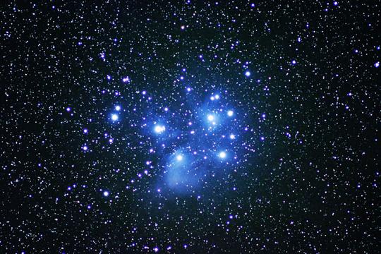 福岡 池の山荘 星の文化館 星空の写真