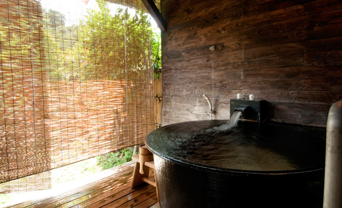福岡 楠水閣 風呂の写真
