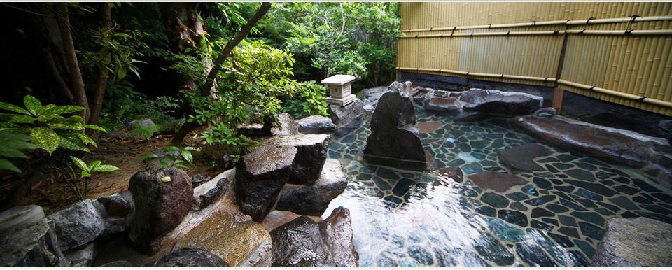 福岡 泰泉閣 露天風呂の写真
