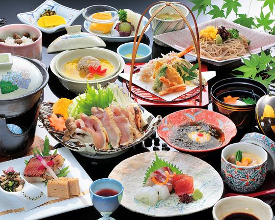 福岡 ビューホテル 平成 会席料理の写真