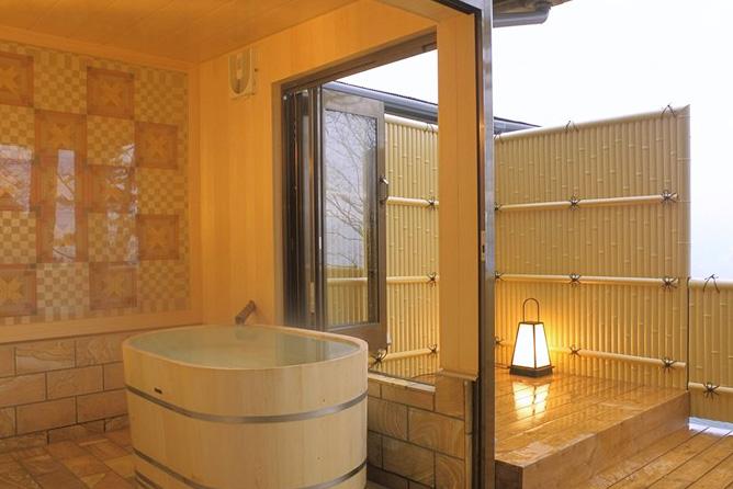 強羅 貸切露天風呂の写真