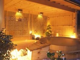 強羅 露天風呂の写真