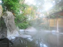 日の春旅館 露天風呂
