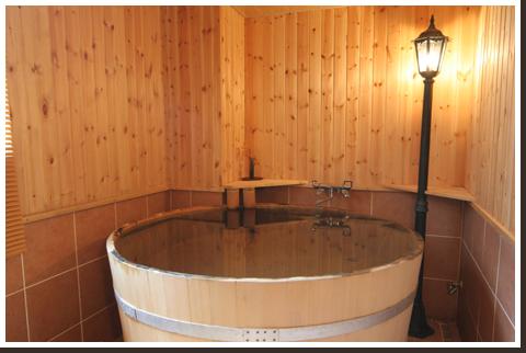 北海道 小樽朝里川温泉 ホテル武蔵亭 貸切風呂の写真