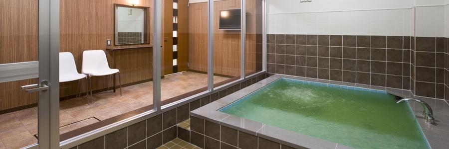 森林公園温泉きよらの家族風呂(個室貸切風呂)の写真