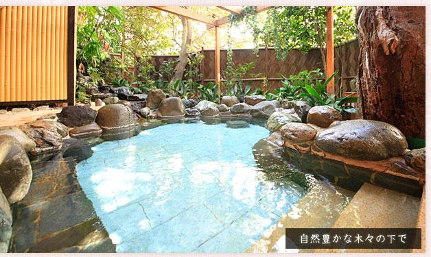 ホテル暖香園 露天風呂「やんも」