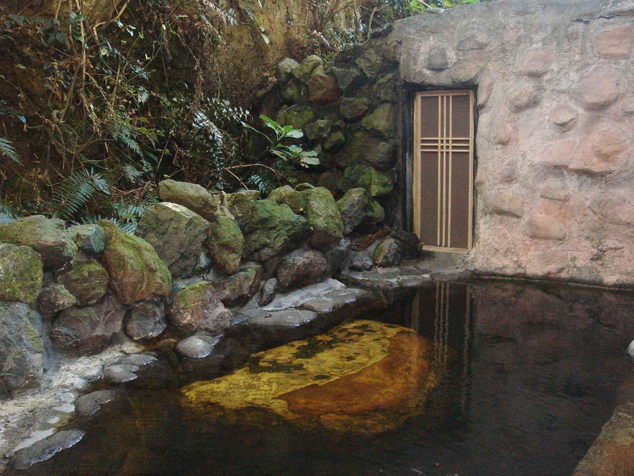 不老山薬師温泉 安房自然村 露天風呂