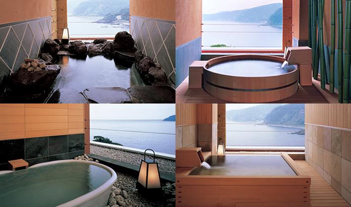 伊豆 赤沢温泉 露天風呂付き個室の写真