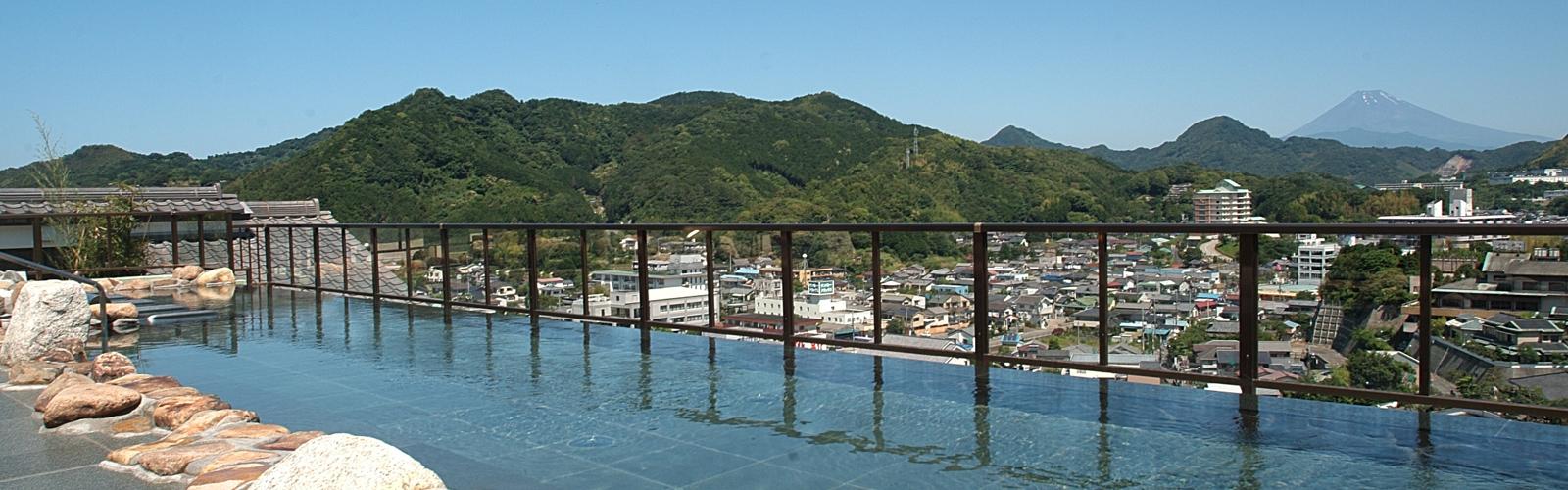 伊豆 ニュー八景園 天空風呂の写真