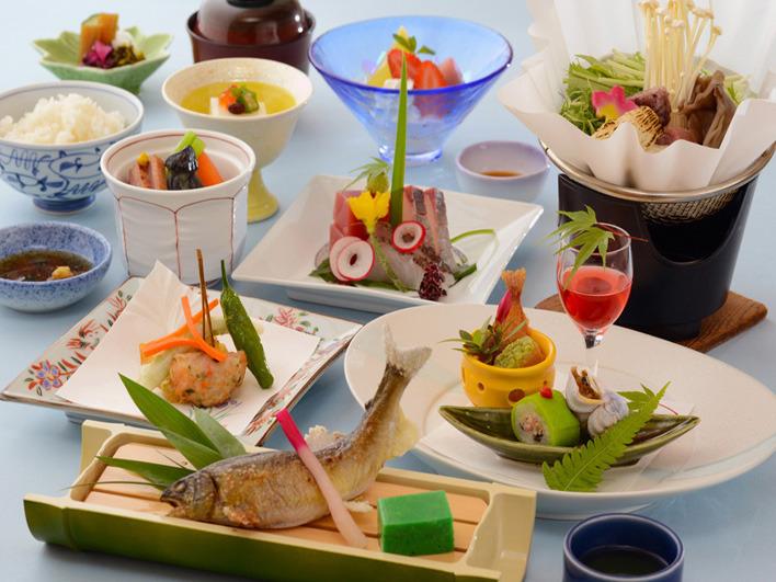伊豆 修善寺温泉 料理の写真