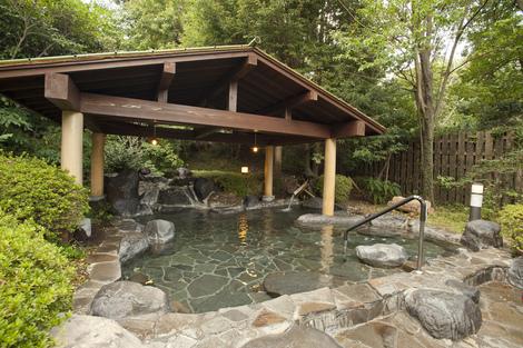 伊豆高原の湯 露天風呂