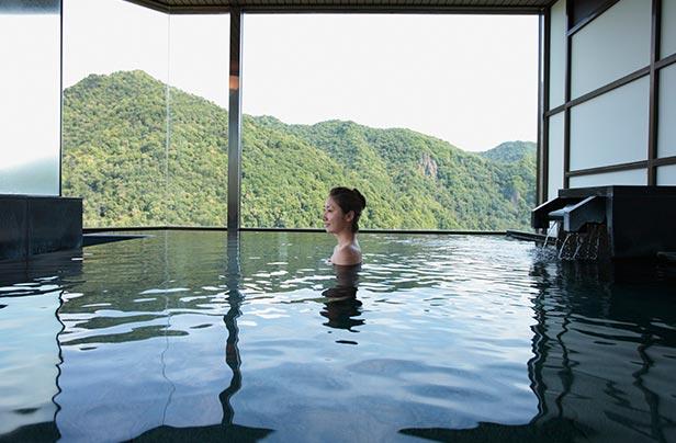 定山渓ビューホテル 内湯