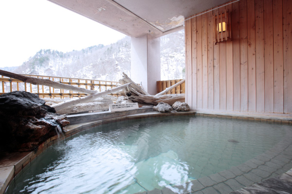 定山渓温泉ぬくもりの宿ふる川 露天風呂の写真