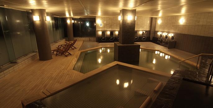 定山渓温泉章月グランドホテル 温泉の写真