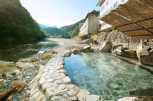 川湯みどりや 露天風呂の写真