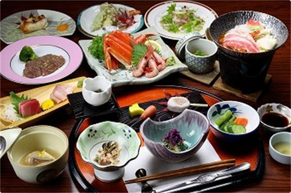 妙高・山里の湯宿 香風館 会席料理