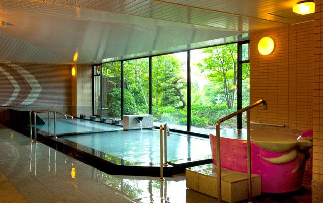光雲閣 大浴場の写真
