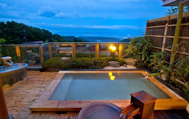 光雲閣 露天風呂の写真