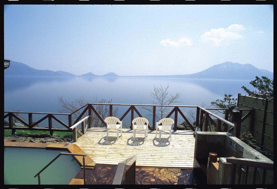 丸駒温泉旅館 大自然の写真