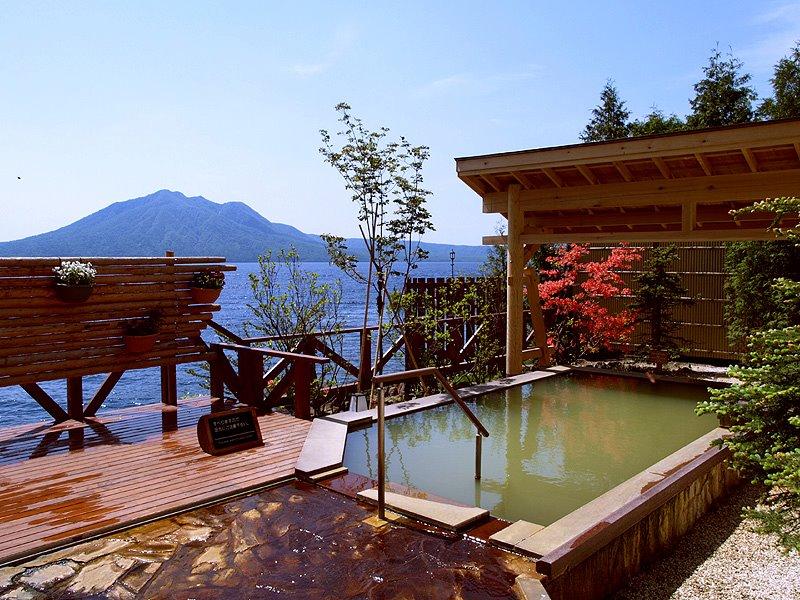 丸駒温泉旅館 露天風呂の写真