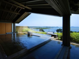 松島一の坊 露天風呂の写真
