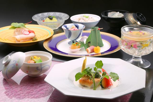松島一の坊 料理の写真