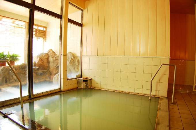 宮城  越後屋旅館 温泉の写真