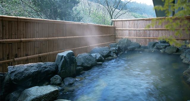 宮城 ホテル 亀屋 露天風呂の写真