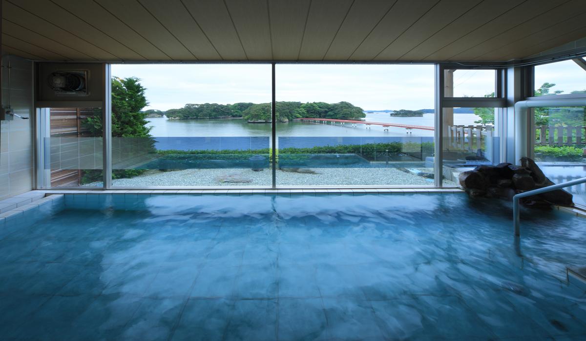 宮城 ホテル 絶景の館 内湯の写真