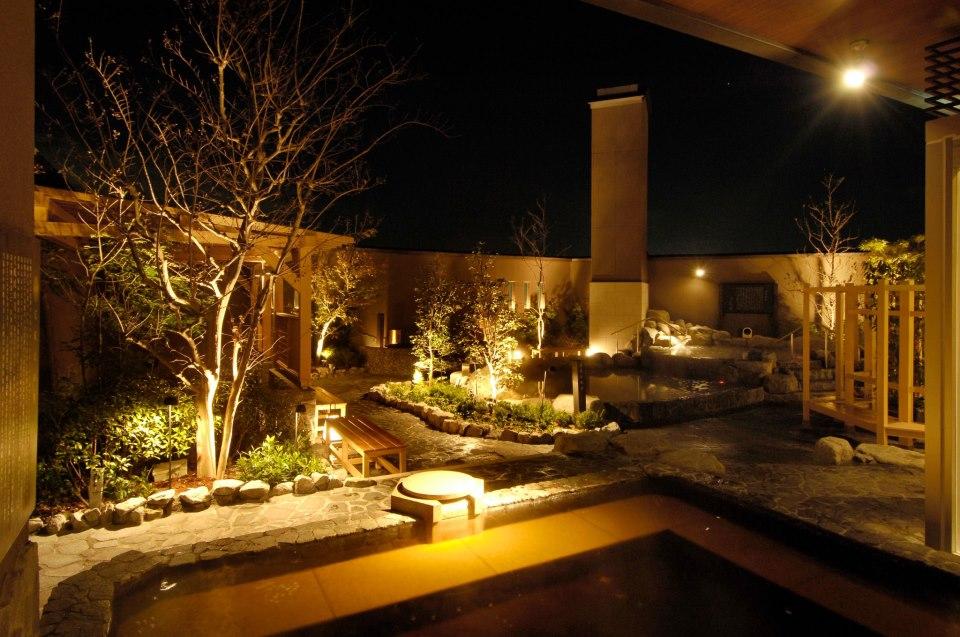 宮前平源泉湯けむりの庄 温泉の写真