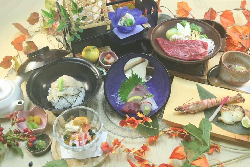 宮前平源泉湯けむりの庄 料理の写真