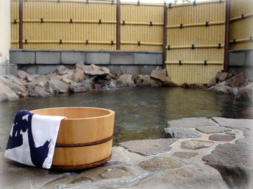 宮本武蔵温泉ケアガーデン武蔵の里 露天風呂の写真