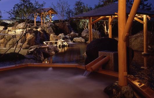 なばなの里 里の湯 温泉の写真