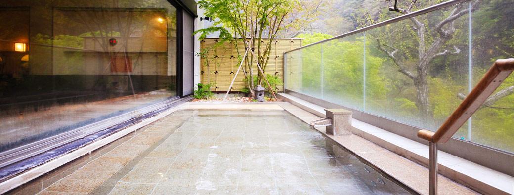 中川温泉信玄館 露天風呂の写真