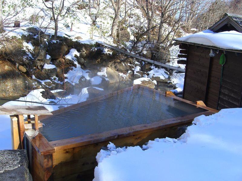 滑川温泉 福島屋 露天風呂