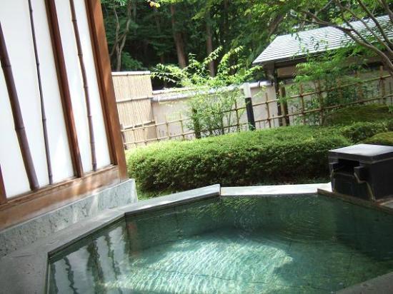那須 こころのおやど 自在荘 露天風呂の写真