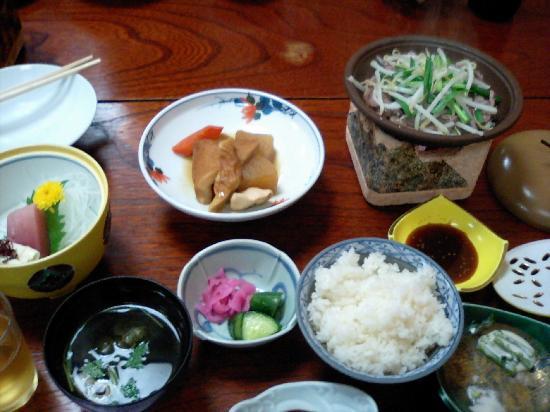 那須 お宿 ひがしやま 食事の写真