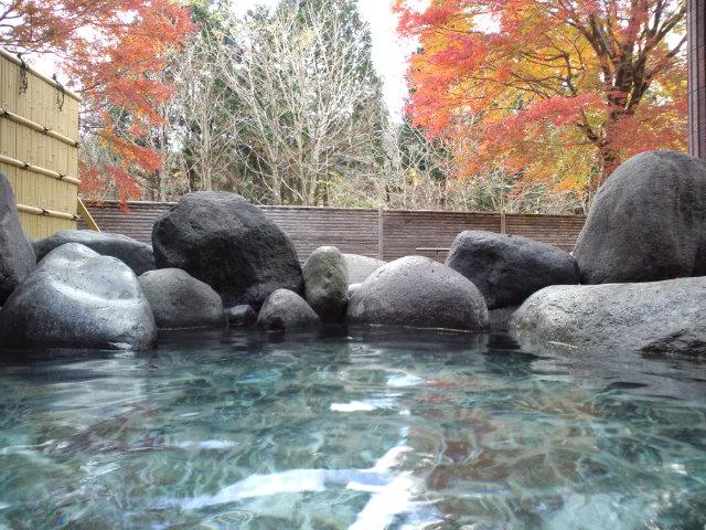 日光和の代温泉 やしおの湯 露天風呂の写真