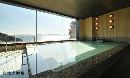 西浦温泉天空海遊の宿 末広 大浴場の写真