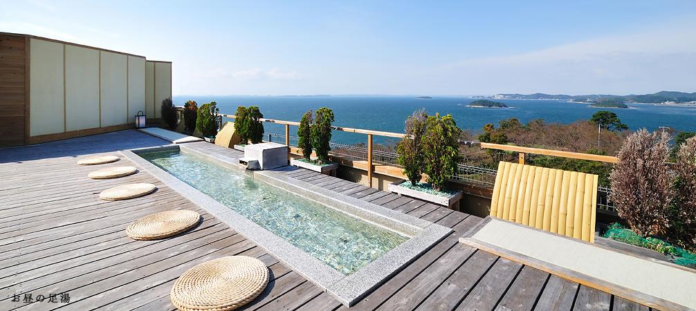 西浦温泉天空海遊の宿 末広 温泉の写真