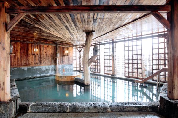 ぬくもりの宿 ふる川 展望浴場