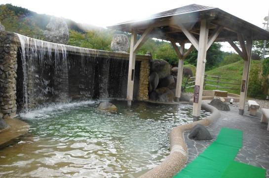 桜香の湯 露天風呂