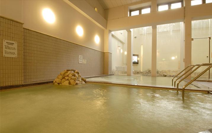 るり渓温泉 大浴場の写真