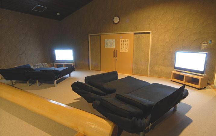 るり渓温泉 シアタールームの写真